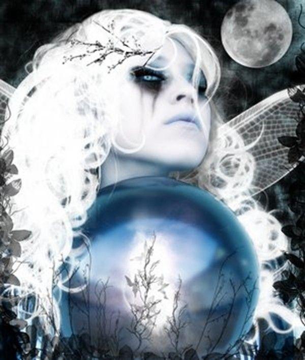 Ich bin eine weiße Hexe