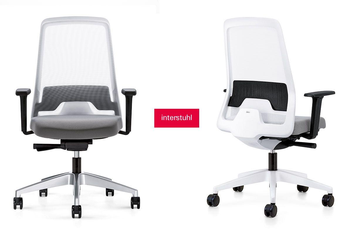 Stilvoll Und Ruckenschonend Arbeiten Mit Dem Everyis1 Von Interstuhl Schoenhaesslich Stilvoll Stil Stuhle