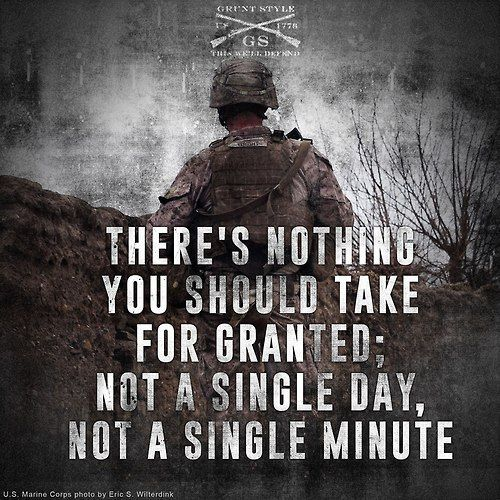 majorleagueinfidel Grunt Style Military quotes, Army