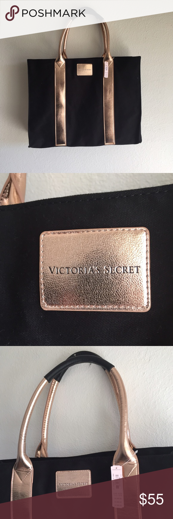 LAST CHANCE VICTORIA SECRET Bag🌸 New With Tags. Beautiful large bag. Victoria's Secret Bags