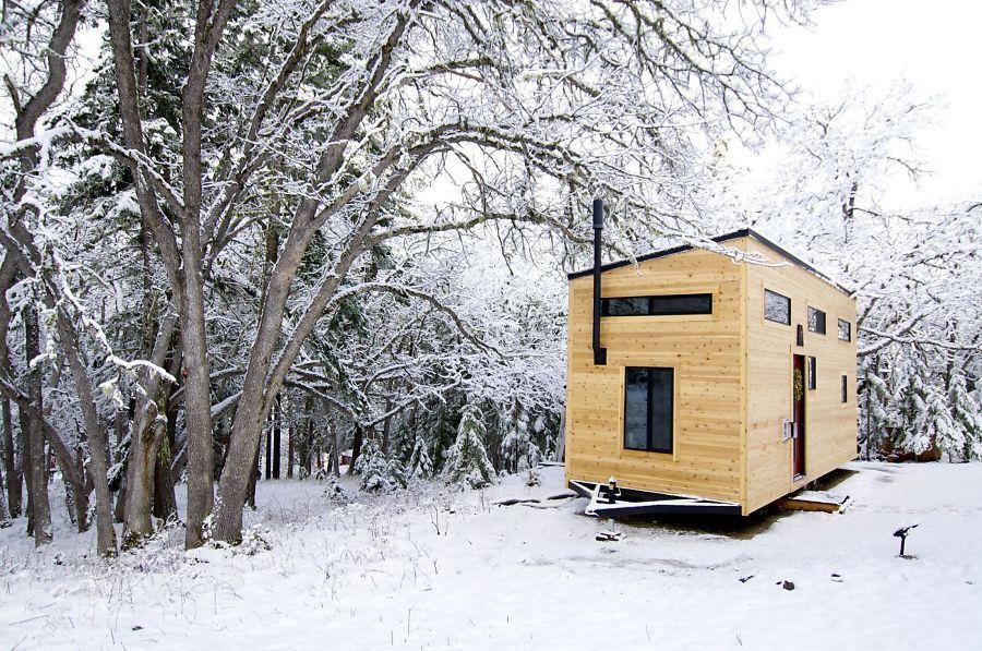 Ville Ikke Ha Gjeld Bygget Minihus Små Boliger Små