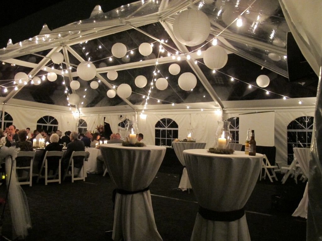 Outdoor Wedding Lighting Rental Italian lighting clear top tent lighting ideas pinterest wedding decoration ideas outdoor outdoor wedding lights decorations with transparent tent and two round tables also white folding chairs workwithnaturefo