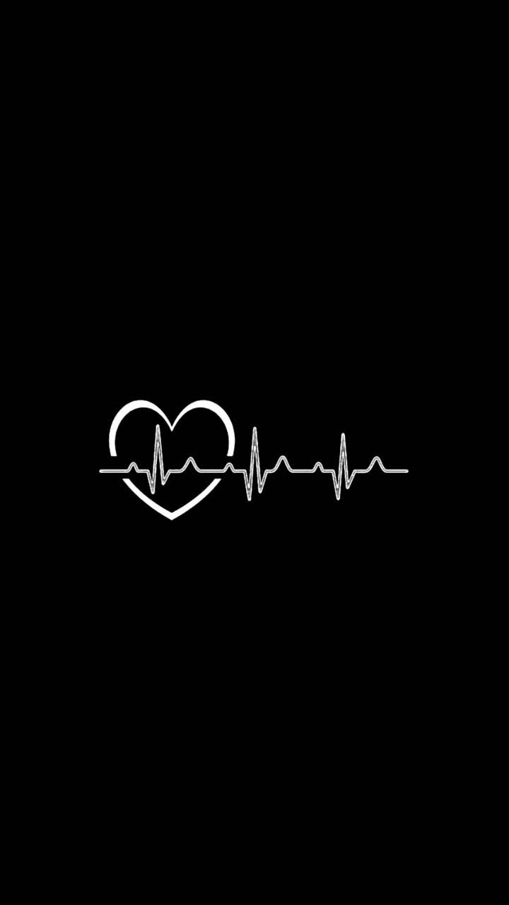 Download Heartbeat Wallpaper By Riwajcreations 99 Free On Zedge Now Browse Millions Of Popular In 2021 Black Wallpaper Cute Black Wallpaper Dark Wallpaper Iphone