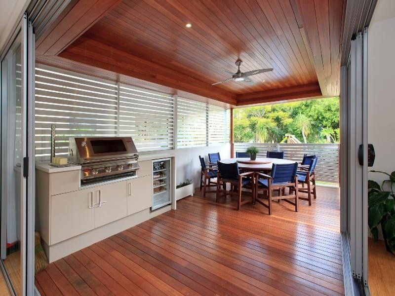 Outdoor Entertainment Designs outdoor living design with balcony from a real australian home