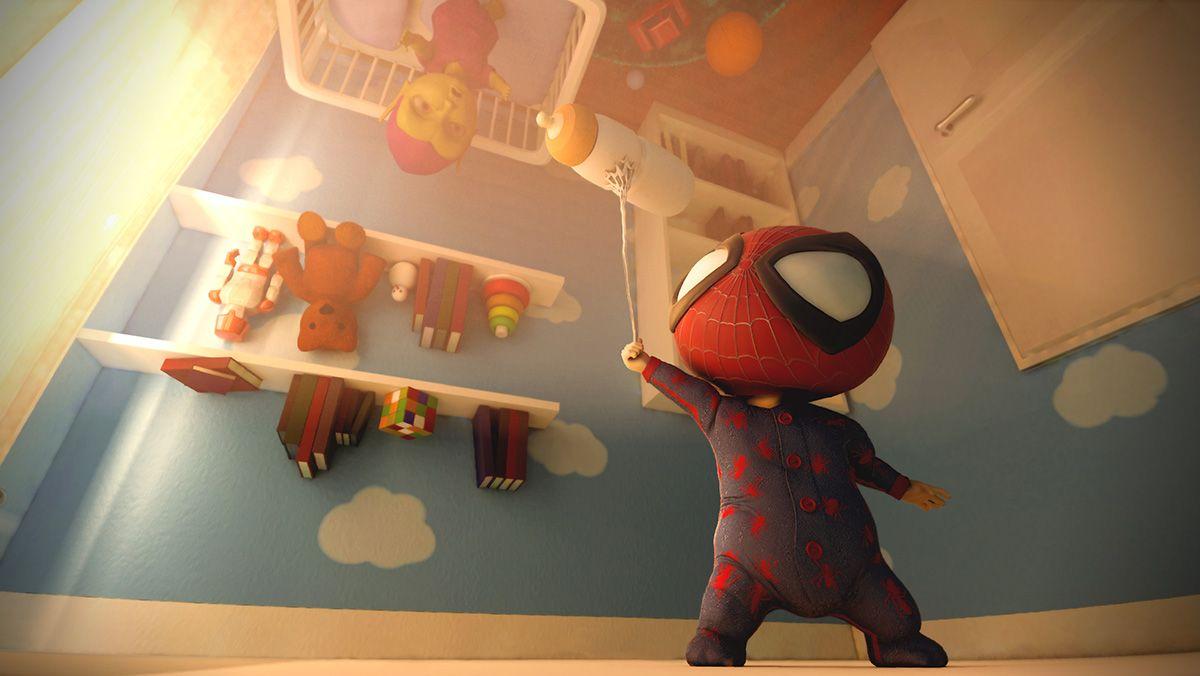 Spiderbaby #3D