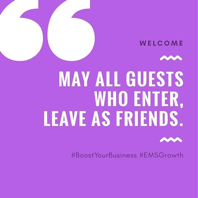 """""""MAY ALL GUESTS WHO ENTER LEAVE AS FRIENDS."""" All Set And"""