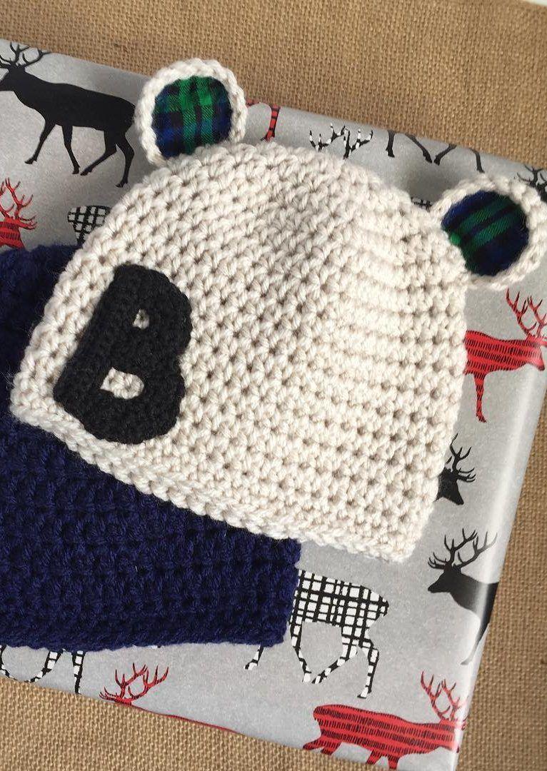 35 adorables patrones de ganchillo de sombrero de bebé ...
