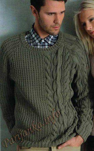 Вязание Мужчинам   Knitting for men - Вяжем для мужчин   Pinterest ...