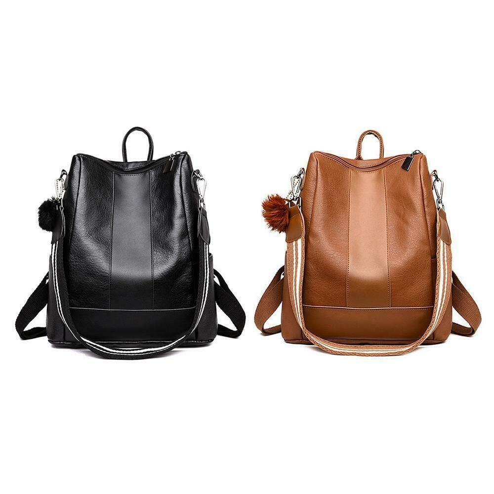 best place for great look 2019 original Sponsored)eBay - Women's PU Leather Backpack Carrying ...