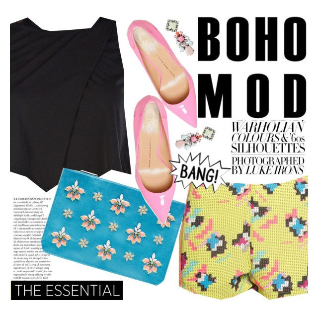"""""""Boho mod"""" by punnky ❤ liked on Polyvore featuring Anja, Emilio Pucci and Giuseppe Zanotti"""