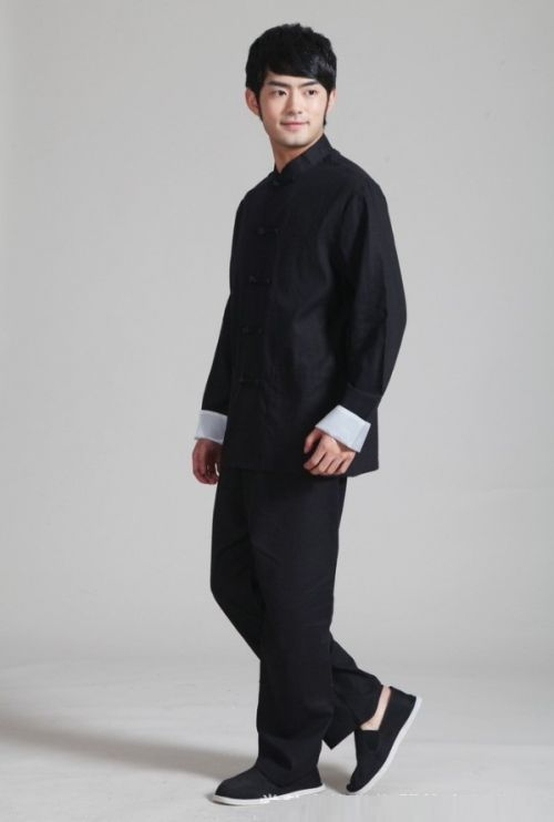 faffd259d traditional men tangzhuang clothing Traditional Chinese, Chinese Style,  Sharp Dressed Man, Cheongsam,