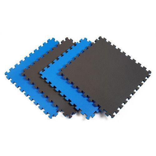 Norsk Floor Reversible Sport Foam Mats In Blue / Gray