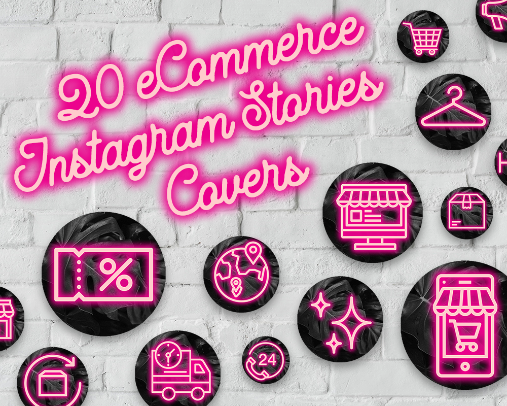 Instagram Highlights, Insta Story Cover Icons