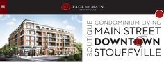 Enjoy a luxurious condo living at the Pace on Main, Stouffville.  #condominiumaurora #condominiummarkham