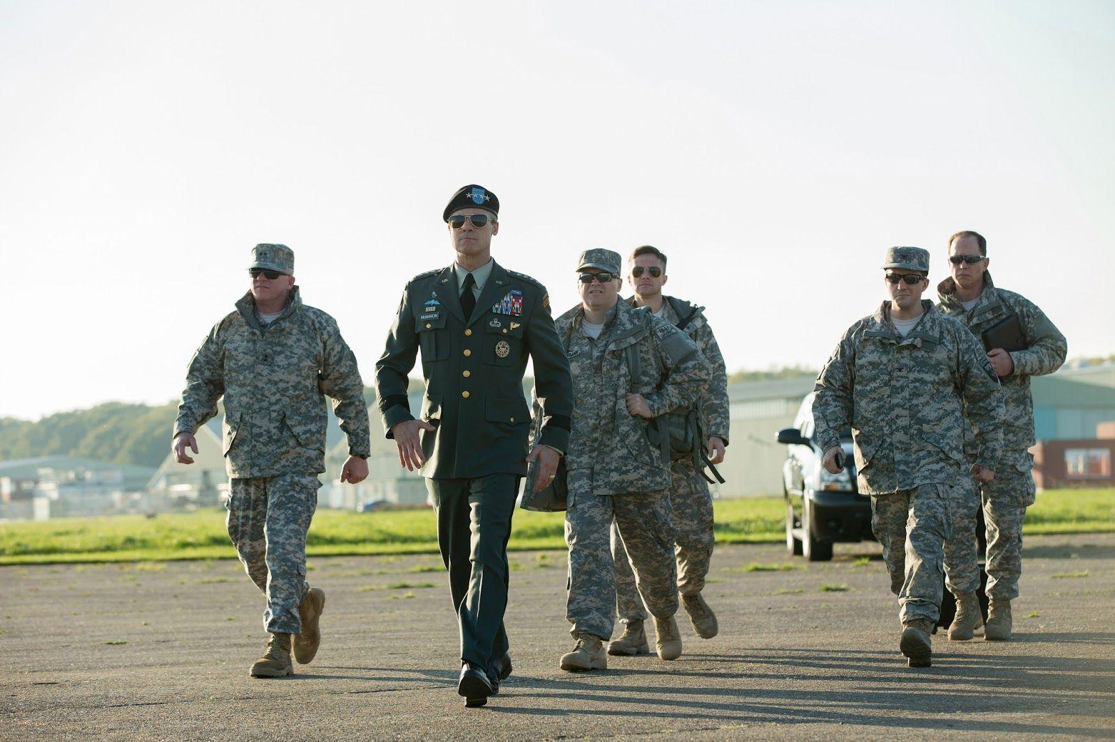 War Machine Brad Pitt Películas De Brad Pitt Brad Pitt Nuevas Películas