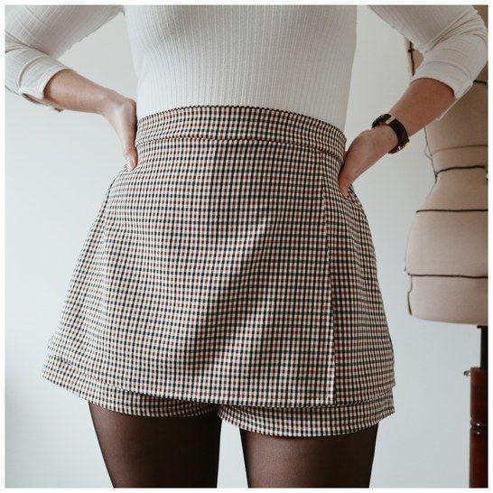 Pack Patron PDF jupe-short RIO + RIObis femme