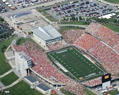 Aerial Pics Of College Football Stadiums Iowa State University