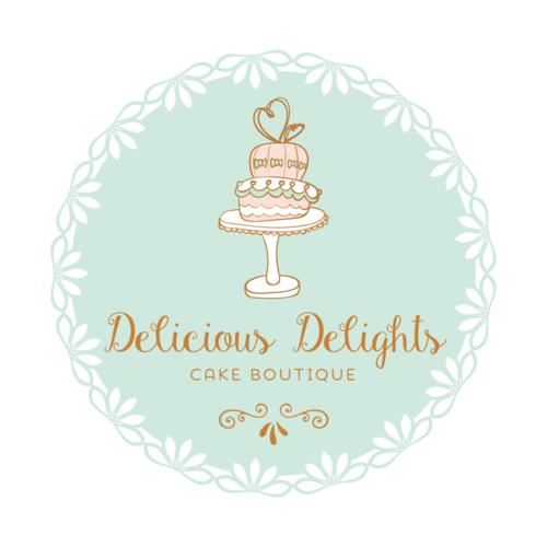 logo design ideas for cake business Cake Premade Logo Design - Customized with Your Business Name