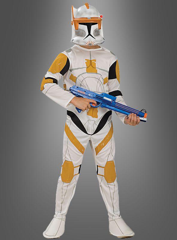 Clone Commander Cody Kostum Fur Kinder Star Wars Kinder Kostum Star Wars Kostume Jedi Ritter