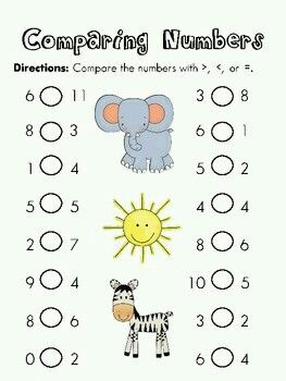 Mayor y menor que | MATE | Pinterest | Math, Fun worksheets and ...