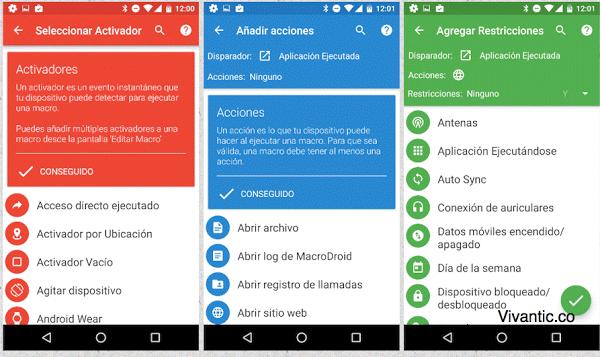 Mejor App para Automarizar cualquier cosa en Android (Plantilla  Ejemplo)