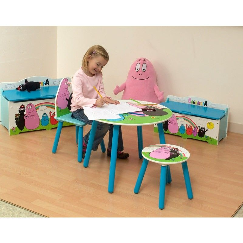 chambre barbapapa enfant. Black Bedroom Furniture Sets. Home Design Ideas