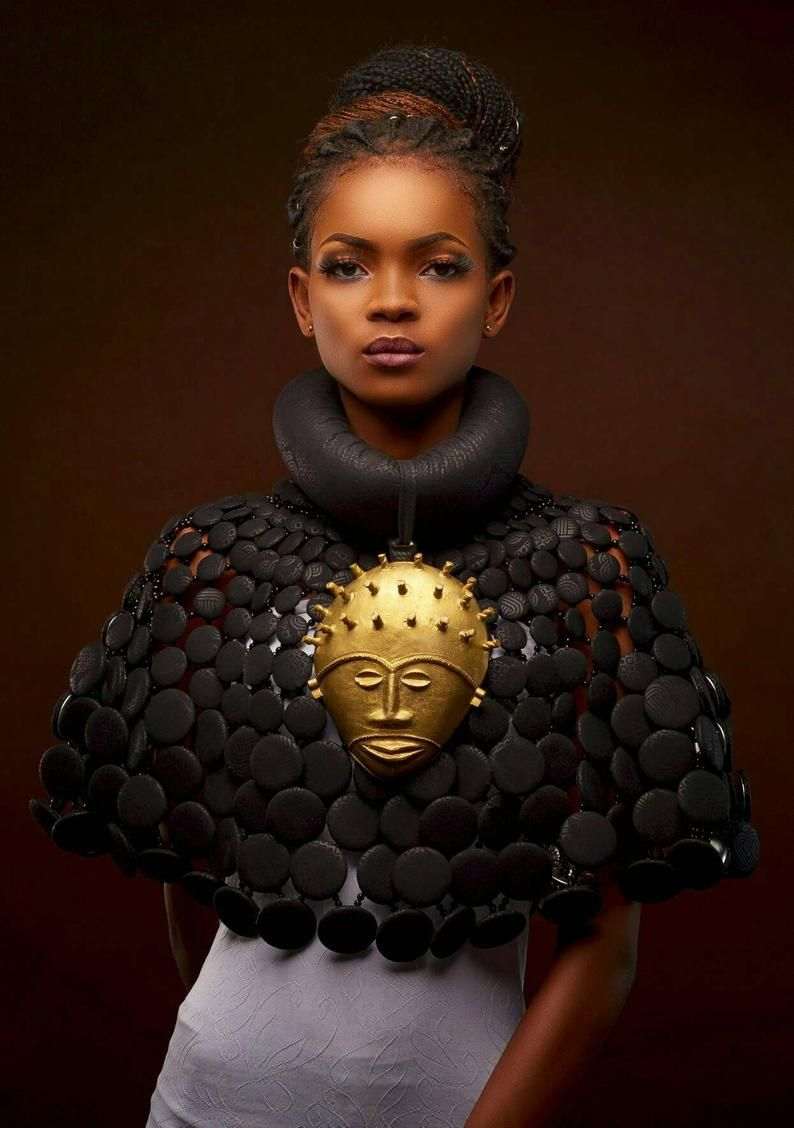 African cape necklace
