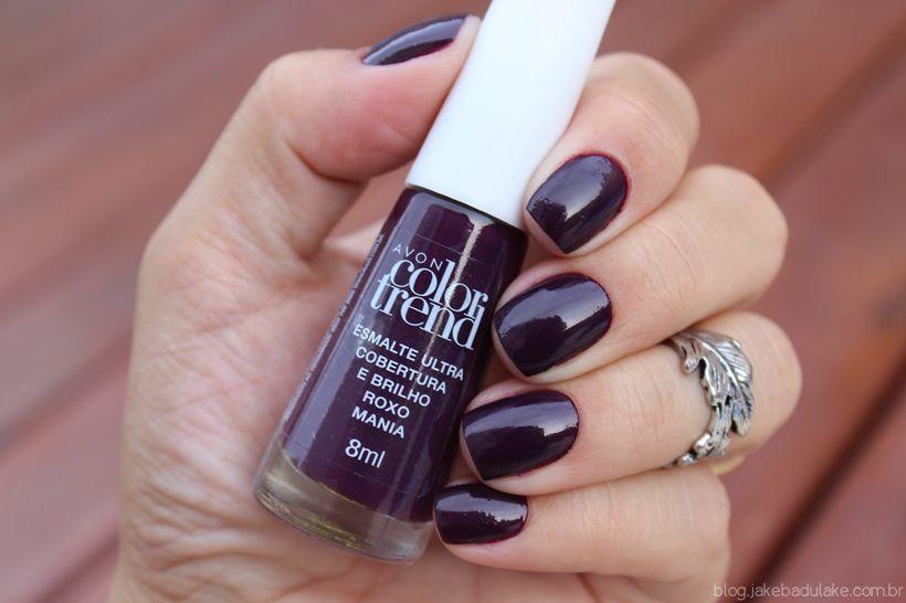 Avon Color Trend esmalte de uñas - Rojo Vino Brillo | AVON ...