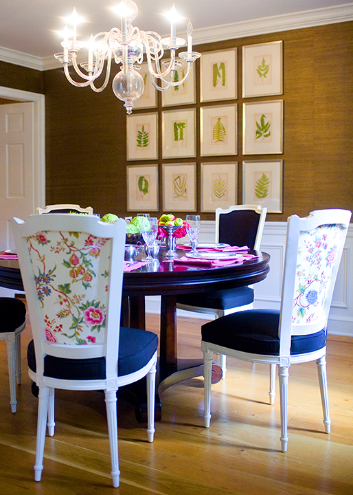 beautiful dining room Mona Ross Berman Interiors » Broomall - Beautiful Dining Rooms