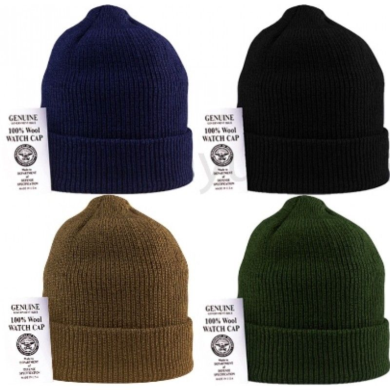 9d9643852e1 US GI Wool Watch Cap