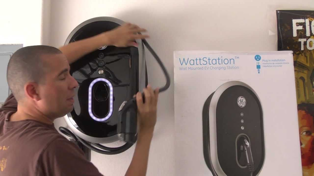 Ge Wattstation Level 2 Ev Charger Review Chevy Volt With Images