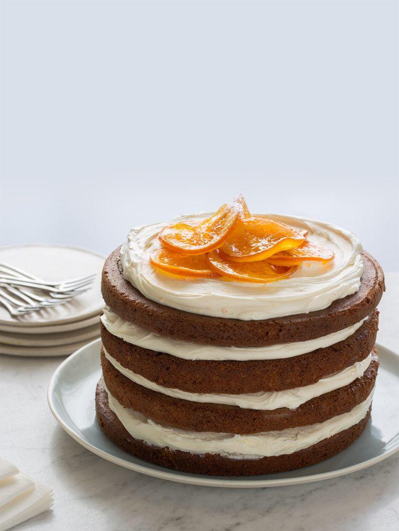 Ginger Infused Italian Cream Cake Recipe Italian Cream Cakes