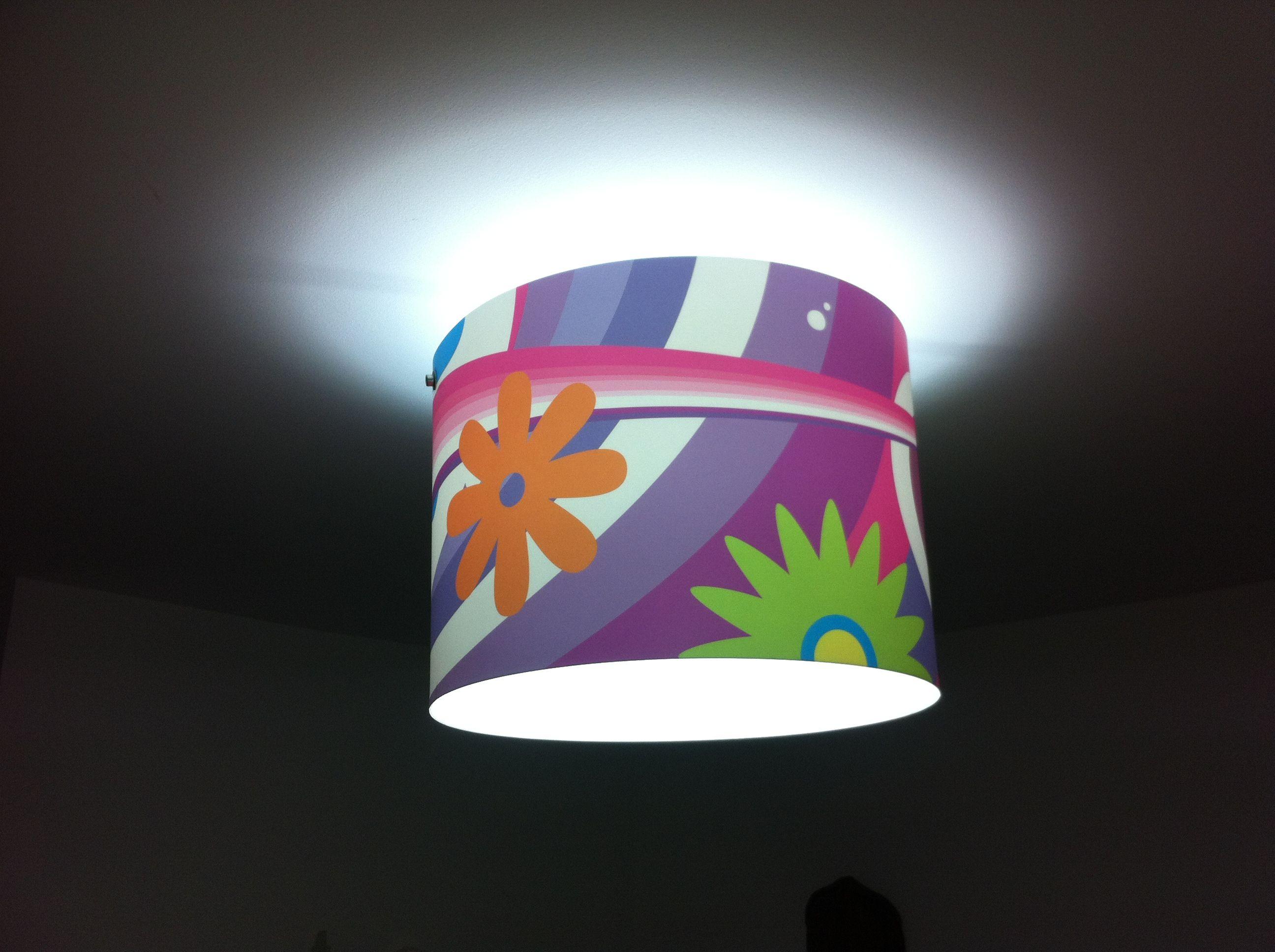 """Lampara de Techo para habitación de Niña By: OBLO """"todo en diseño"""""""