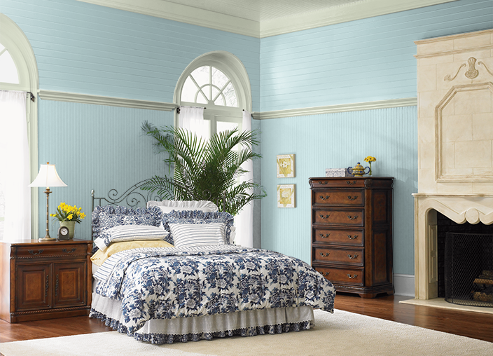 Behr Peek a Blue; for the bedroom