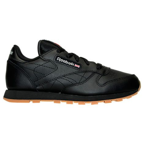 reebok men's classic leather casual gum kl sneakers from