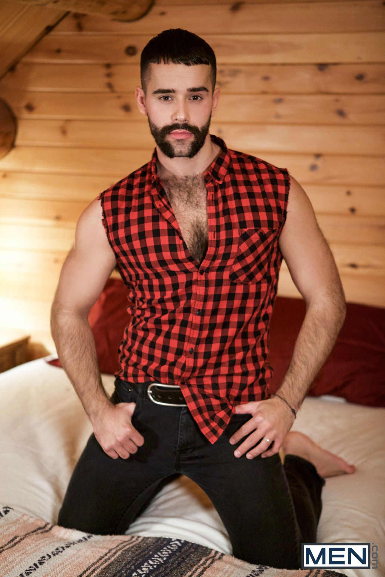 Teddy Torres In The Huntsman Part 3 Hairy Chest Men Casual Hot