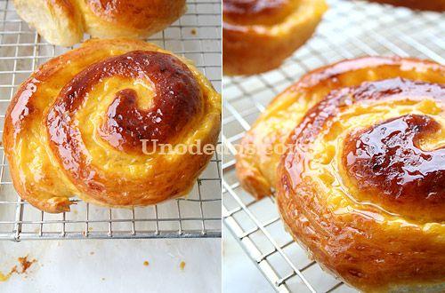 Caracolas de crema y buttermilk http://www.unodedos.com/recetario-de-cocina/caracolas-de-crema-y-buttermilk/