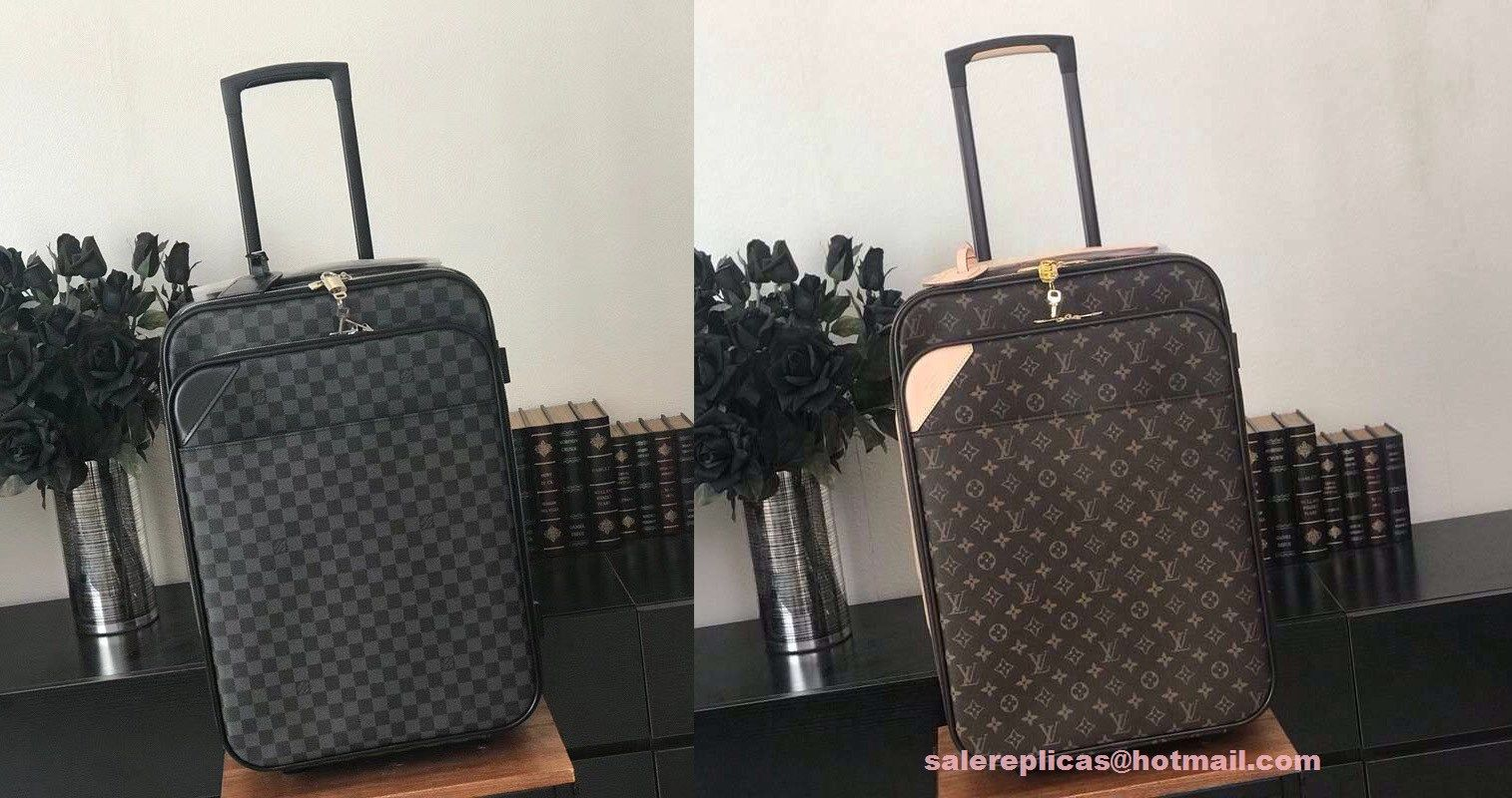 2808a2b4b00c Discover ideas about Luxury Luggage. replica Louis Vuitton Pegase Legere 55  Business M20013 1