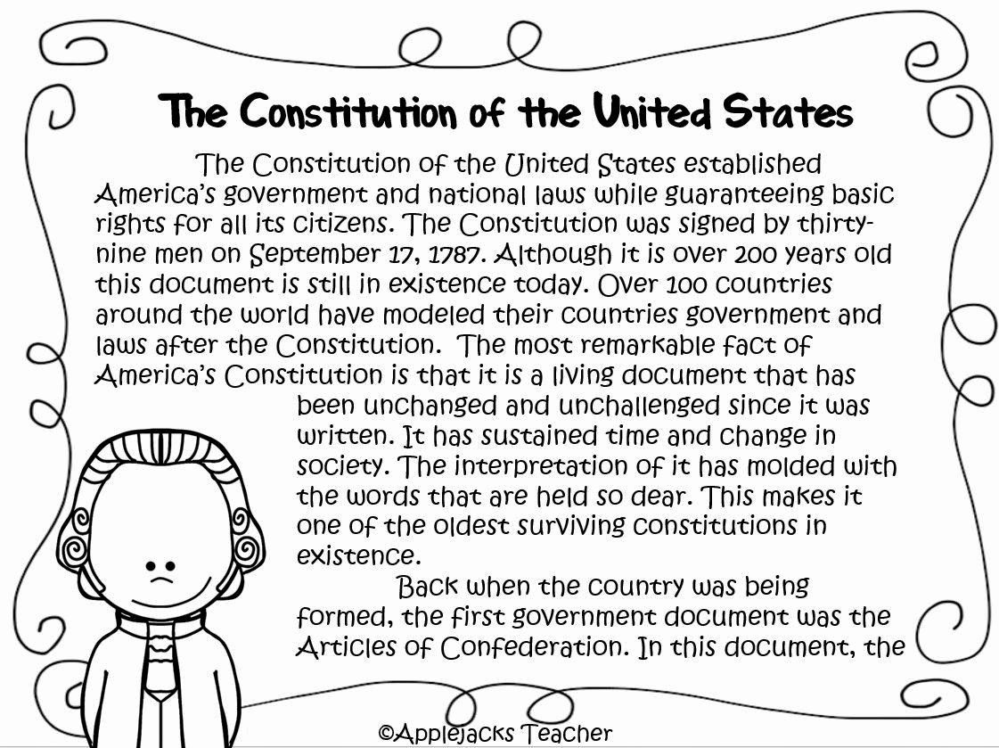 50 The Us Constitution Worksheet In