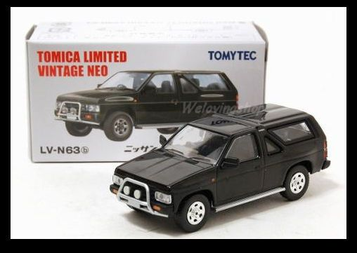 d9dcbab8307 Tomica Limited Vintage NEO LV-63b NISSAN TERRANO R3M 1/64 Tomy DIECAST CAR