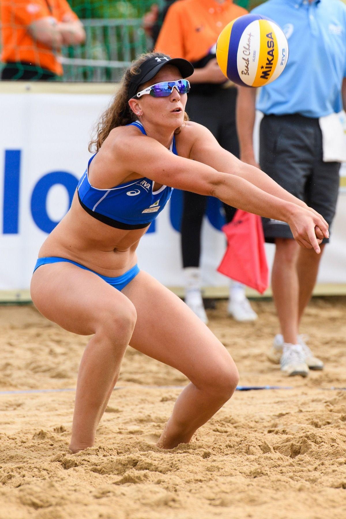 Jolien Sinnema Olsztyn Grand Slam 2016 Women Volleyball Beach Volleyball Female Athletes
