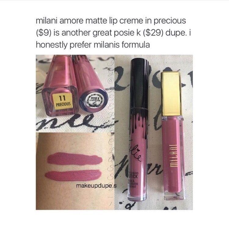 Kylie jenner lipkit posie k dupe kylie cosmetics - Schminktipps mac ...