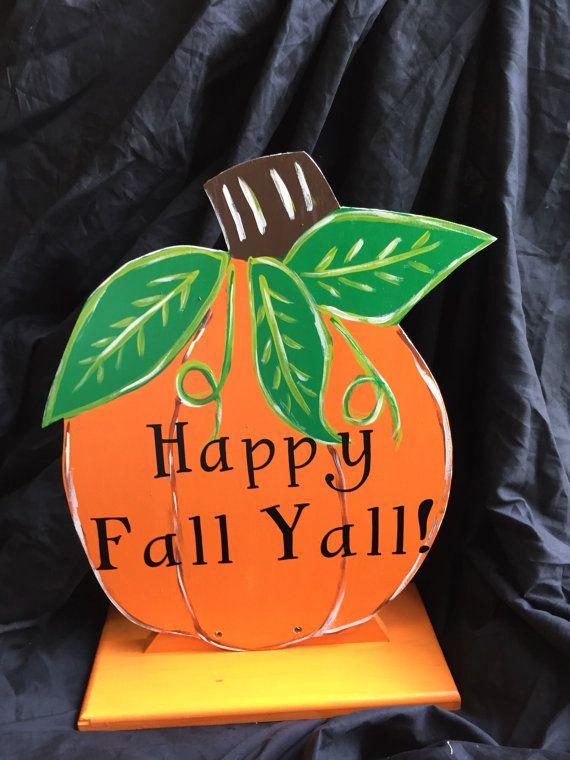 Fall pumpkin porch decor - Halloween decorations - Pumpkin door