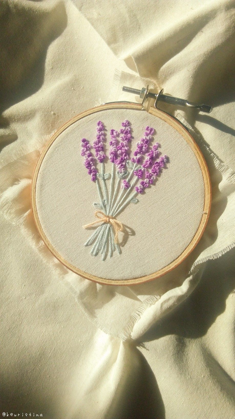Aesthetic embroidery simple