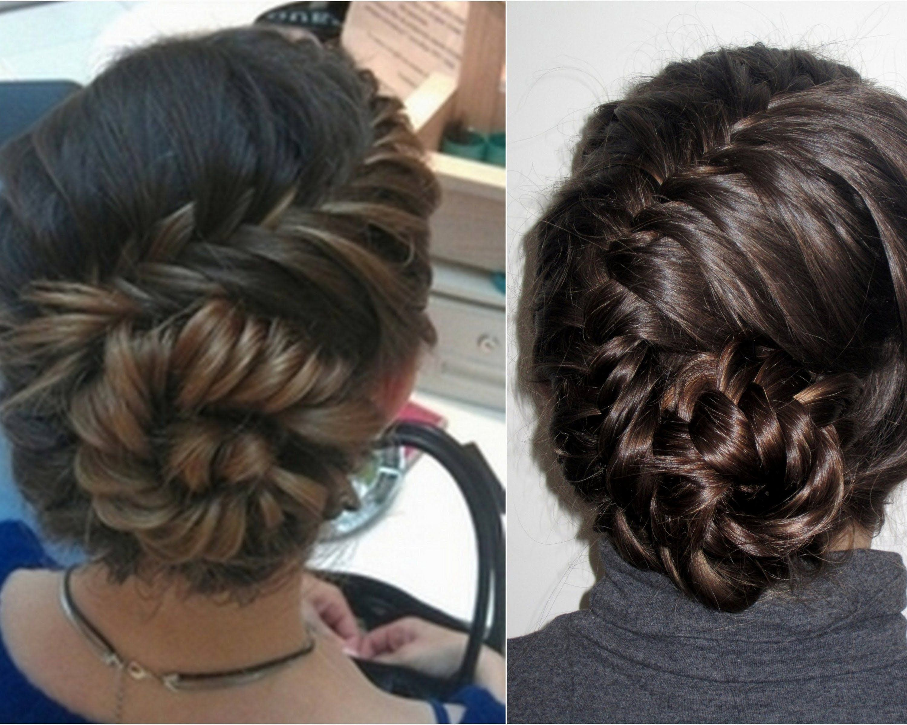 How To | French Fishtail Seashell Braid Very Nice! Sometimes Itu0027s Difficult  To See, But You Get The Basics. :)
