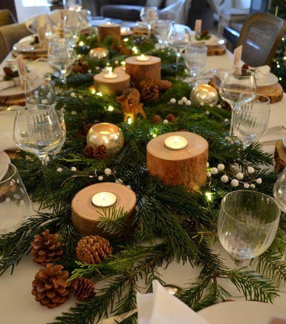 Décorer sa table pour Noël en mode zéro déchet
