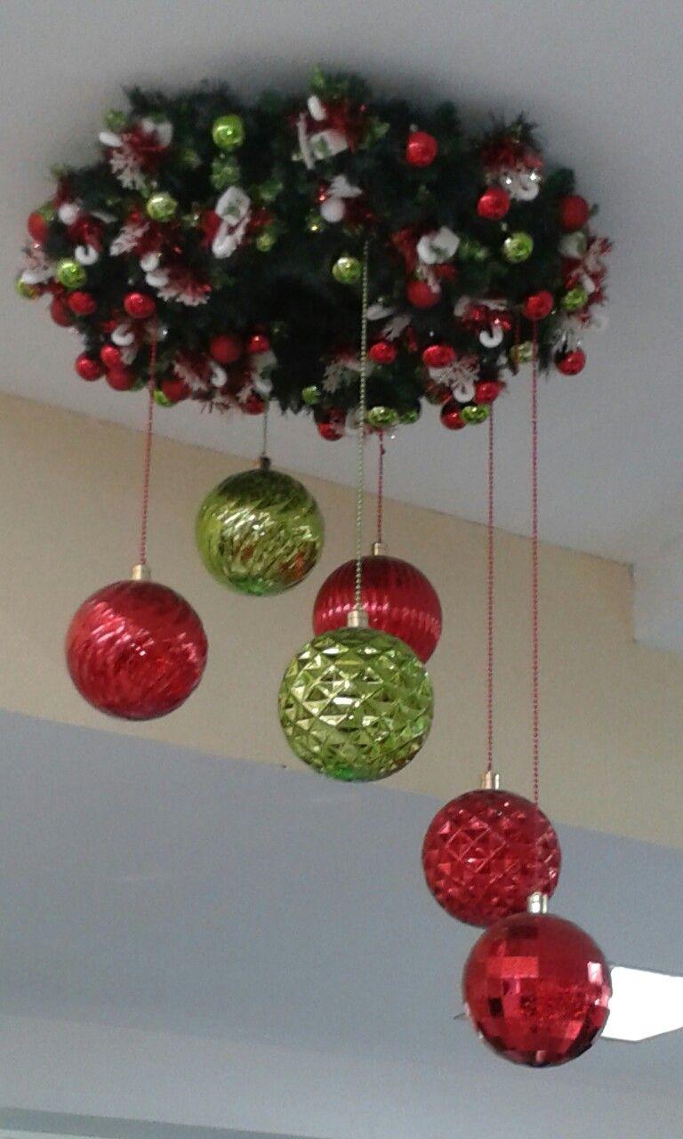 Lampara Christmas Decor Diy Christmas Diy Christmas Ornaments