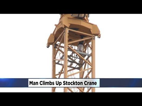 Suicide Scare Man Threatens Girlfriend | Climbs Tower Crane | Ap ...