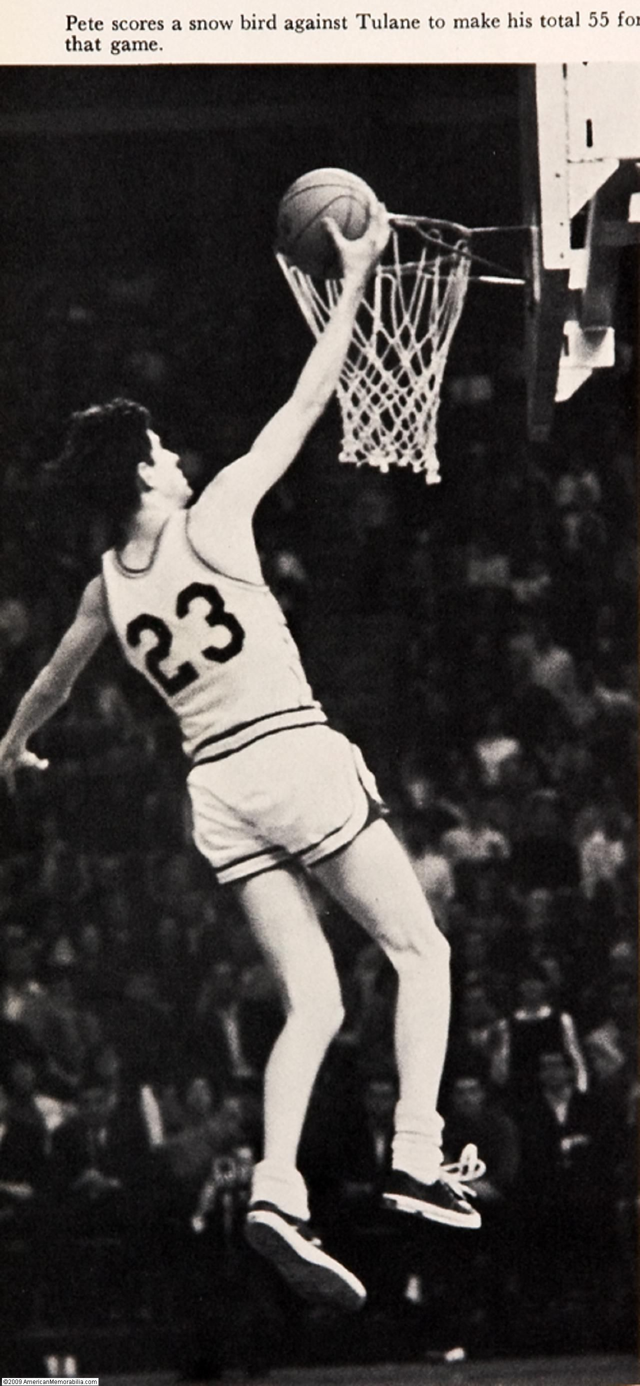 Pin By Debbie Hughes On Sports Arena Basketball History Pistol Pete Sports Hero
