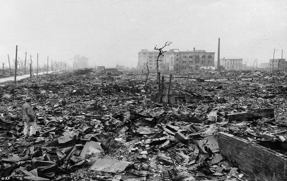 The Nightmare Returns Chilling Echoes Of Hiroshima S Destruction